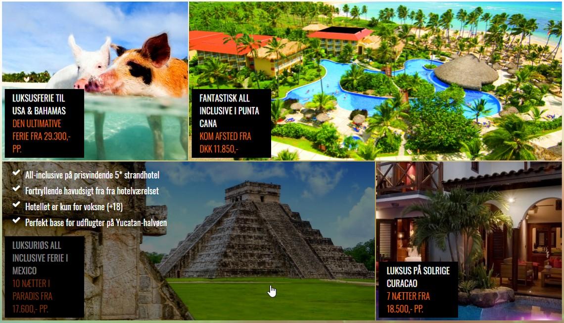 Caribia travels - udsnit af mit arbejde